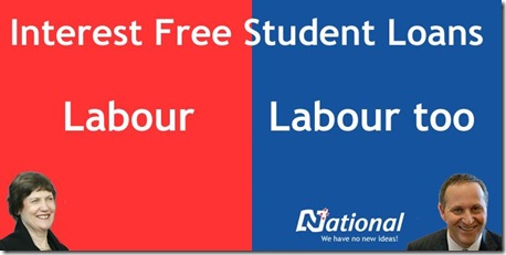 Interest Free Student Loans - Labour Too