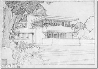 A2 Frank Lloyd Wright - Gale House - Oak Park
