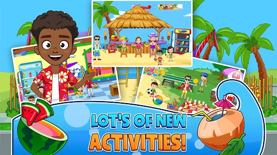 My Town : Beach Picnic MOD (Paid Content) 5