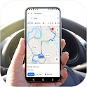GPS Route Finder: GPS Navigation & Maps Directions icon