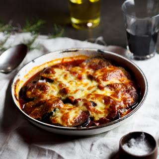 Mushroom Tomato Eggplant Bake Recipes