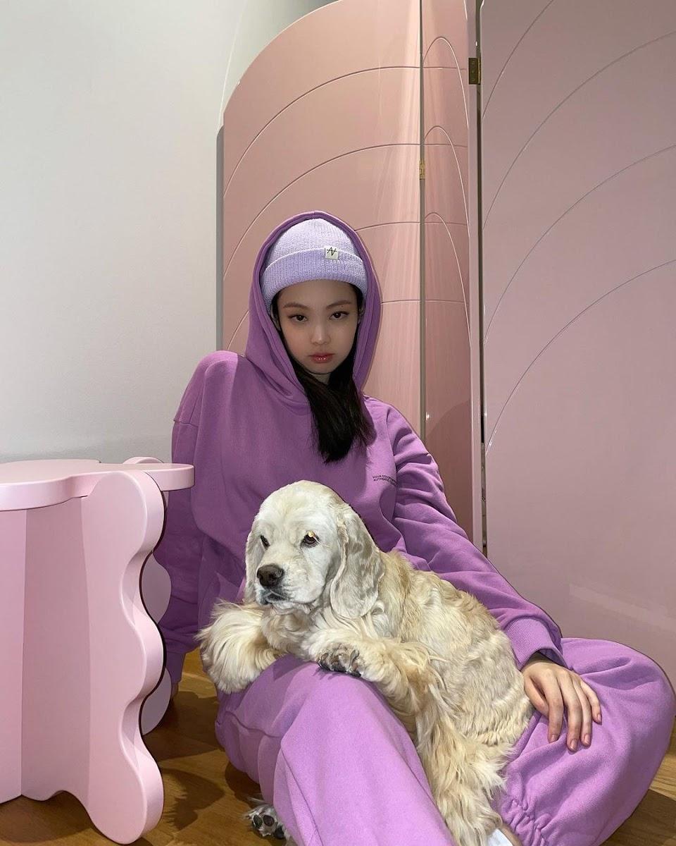 jennie purple