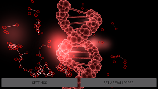 Particle Cells & Molecules 3D Live Wallpaper  screenshots 24