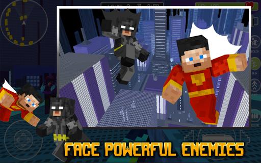 Superhero: Cube City Justice screenshot