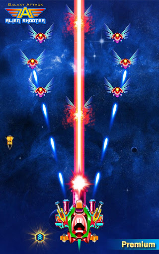 Galaxy Attack: Alien Shooter (Premium) screenshots 18