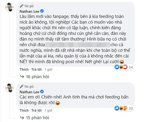 Bị quản lý và fan Ngọc Trinh công kích, Nathan Lee tuyên bố: