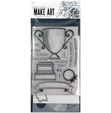 Wendy Vecchi Make Art Stamp Die & Stencil Set - Award Winning