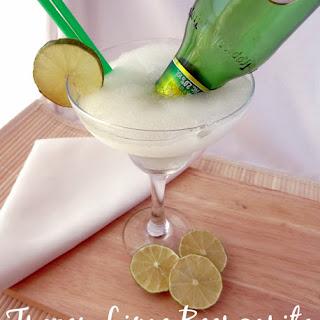 Frozen Lime Beergarita