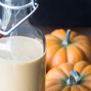 Homemade Pumpkin Liqueur.
