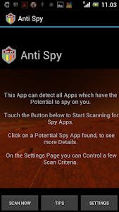 Anti Spy for Paranoids screenshot 0