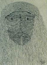 """Photo: Lost In a Lost World12"""" x 6""""2005 - 2007Pen & Ink on paper"""