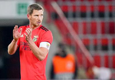 Jan Vertonghen remplaçant, Benfica remonte sur le podium