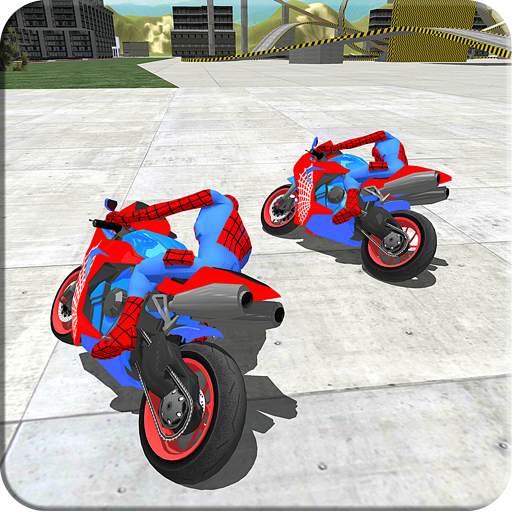 Bike Driver Super Hero Stunt Simulator
