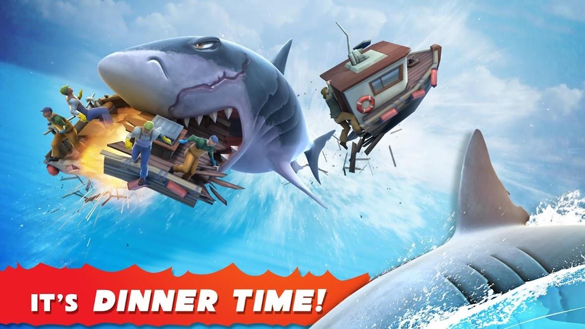 Hungry Shark Evolution v 6.1.0 Mod Apk