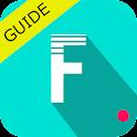Guide for filmora video editor icon