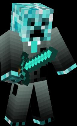 Cool Blue Creeper Nova Skin