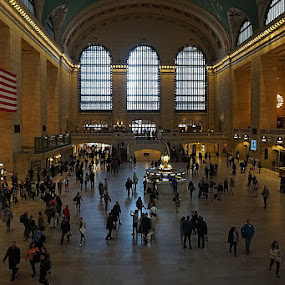 Grand Central Station by Harold Stoler - Buildings & Architecture Public & Historical ( interior, grand central station, transportation, nyc, public )