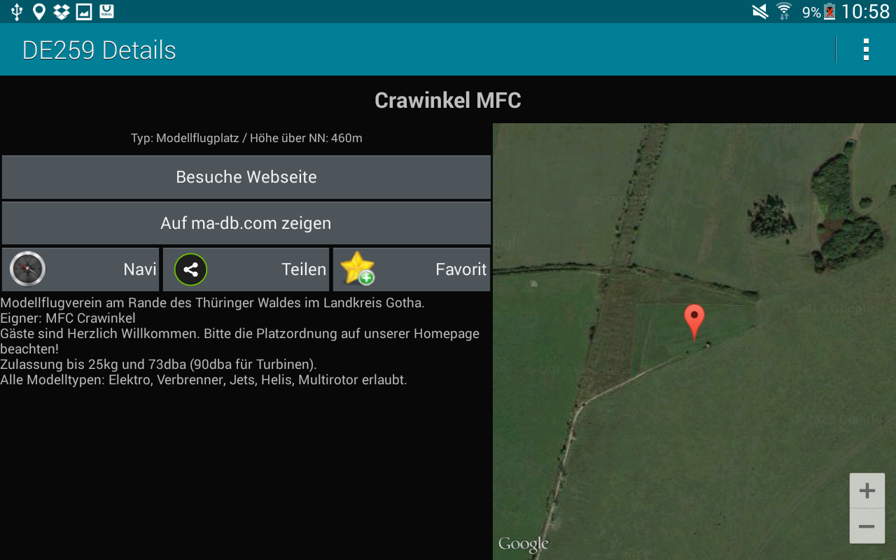 RC Model Aircraft Fields- screenshot