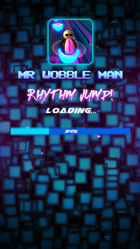 Wobble Man Rhythm Jumper! apktram screenshots 2