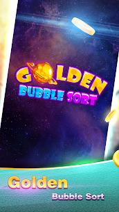 Golden Bubble Sort MOD (Unlimited Money) 1