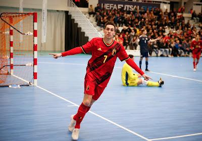 Futsal: un petit pas vers l'Euro 2022 pour les Diables Rouges!