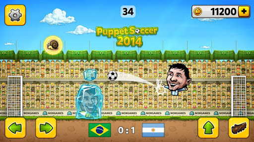 ⚽Puppet Soccer 2014 - Big Head Football ? screenshot 1