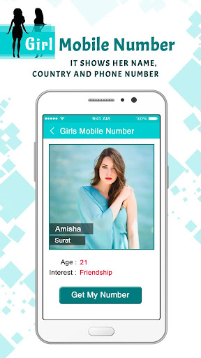 Girls Mobile Number : Girl Friend Search 1.0 screenshots 3
