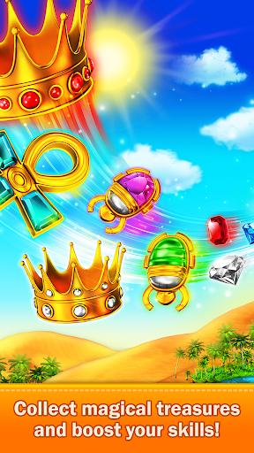 Golden Match 3 Puzzle Game - Real treasure hunter 1.2.5 Mod screenshots 4
