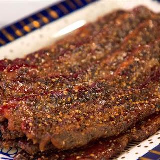 Brown Sugar Peppered Bacon Recipe