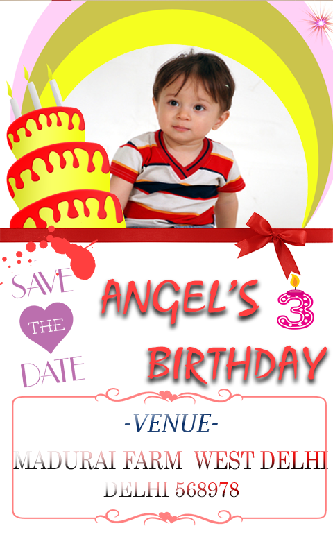 Birthday invitation card maker android apps on google play birthday invitation card maker screenshot stopboris Image collections