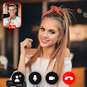 Live girl video call & video chat guide icon
