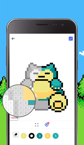 Pixel Art: Pokemon 1.1.0 screenshots 1