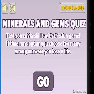 Mineral and Gemstone quiz