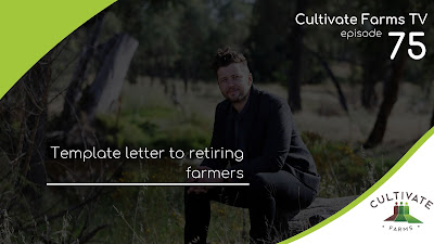 Template letter to retiring farmers