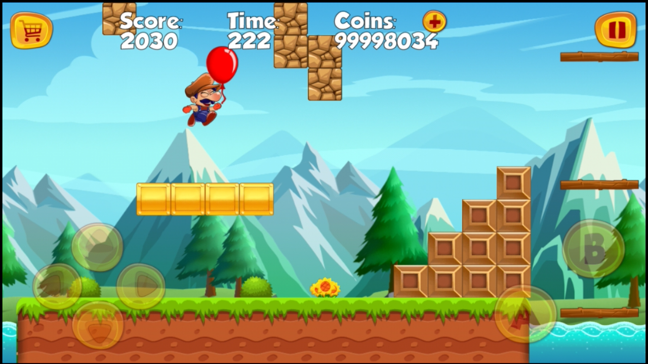 Sboy World Adventure- screenshot