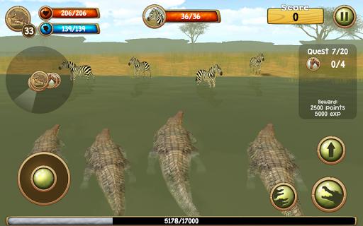 Wild Crocodile Simulator 3D apkpoly screenshots 2