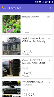 Kijiji Free Local Classifieds- screenshot thumbnail