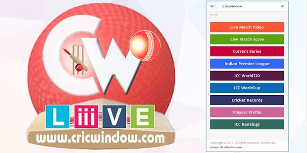 Live Score - Cricwindow- screenshot thumbnail
