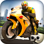 VR Highway Speed Moto Ride Icon