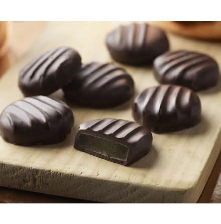 Mörk chokladpralin med ingefära - Thorntons