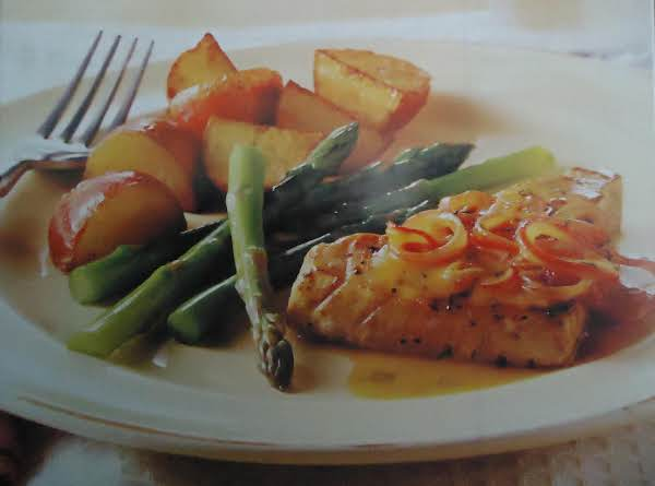 Norma's Orange And Dill Pan-seared Tuna