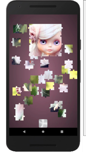 Cute Dolls Jigsaw And Slide Puzzle Game apkmr screenshots 17