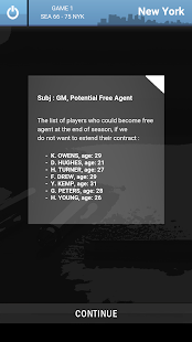 Basketball PR Manager - General manager as in NBA!- screenshot thumbnail