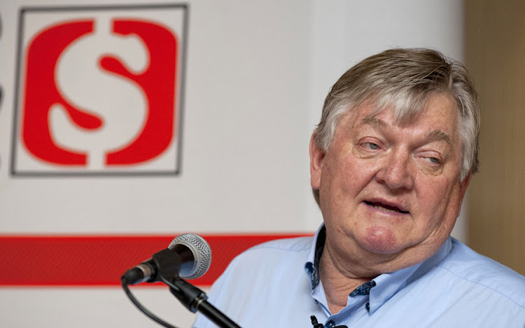 Shoprite CEO Whitey Basson. Picture: MARTIN RHODES