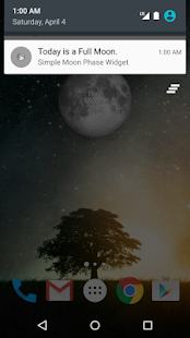 Simple Moon Phase Widget- screenshot thumbnail