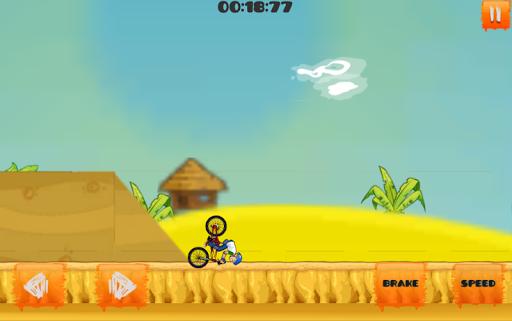 Crazy Bicycle Stunts Game apkmind screenshots 5