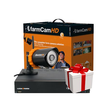 Farmcam HD komplett kit inkl. 1 st kamera
