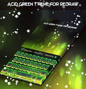 Acid Green Theme for Redraw - náhled