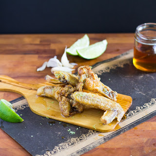 Garlic Lime Chicken Wings with Honey