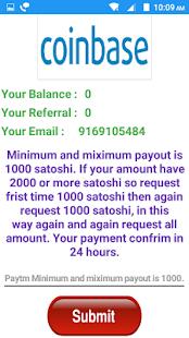 Satoshi pay Free Paytm - náhled